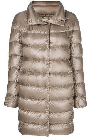 HERNO Dora puffer jacket - Neutrals