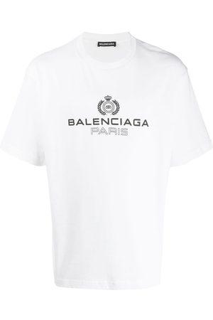 Balenciaga Men T-shirts - Logo T-shirt