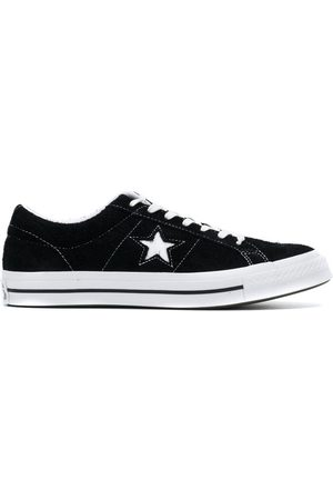 Converse One Star premium suede low top sneakers