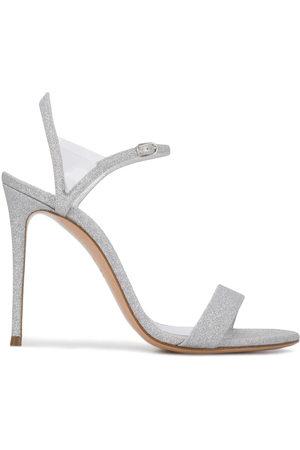 Casadei Women Sandals - Glittered 110mm sandals