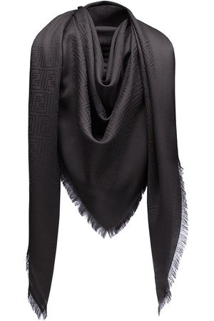 Fendi Monogram print scarf