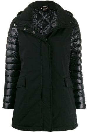 Colmar Women Leather Jackets - Biker down jacket