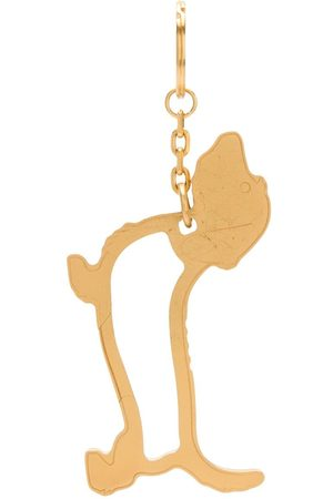Thom Browne Men Keychains - Hector Icon carabiner keyring