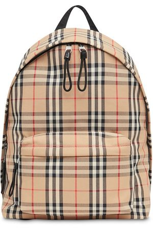 Burberry Vintage Check Nylon Backpack - Neutrals