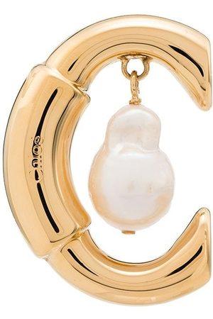 Chloé Darcey pearl hoop earring