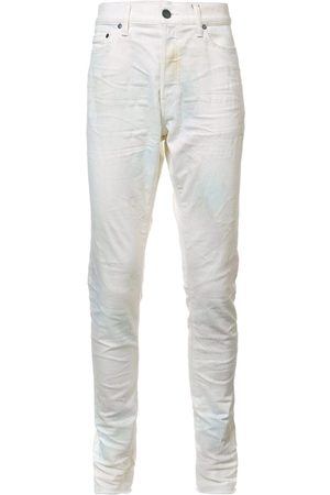 JOHN ELLIOTT Creased slim-fit jeans
