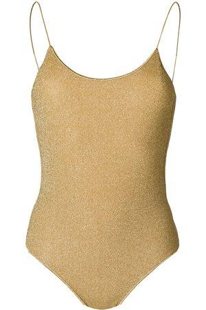Oseree Metallic thread swimsuit