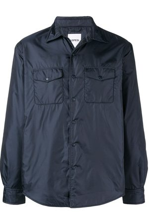 Aspesi Men Outdoor Jackets - Shirt style wind-breaker jacket