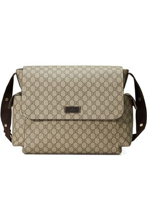 Gucci GG Supreme diaper bag - Neutrals