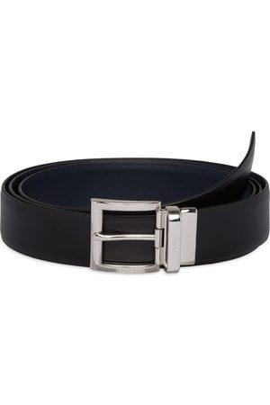 Prada Women Belts - Reversible buckled belt
