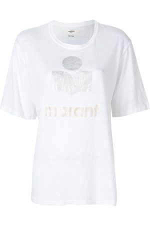 Isabel Marant Women T-shirts - Kuta logo-print T-shirt