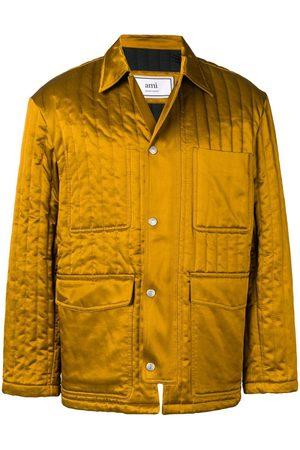 Ami Men Jackets - Multipockets Zipped Jacket