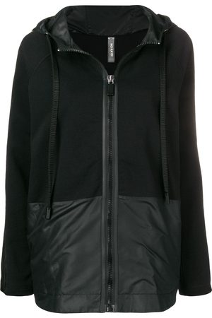 NO KA' OI Zipped-up hoodie