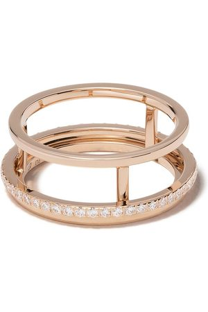 De Beers Jewellers 18kt rose The Horizon diamond band