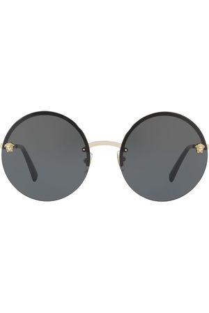 VERSACE Women Round - Medusa round-frame sunglasses