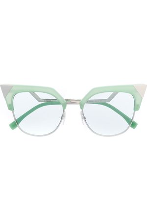 Fendi Cat eye frame sunglasses