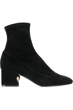 Nicholas Kirkwood MIRI stretch ankle boots 55mm