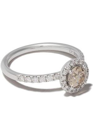 De Beers Jewellers 18kt De Beers Aura fancy coloured diamond ring