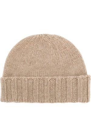 DRUMOHR Men Beanies - Cable knit beanie - Neutrals