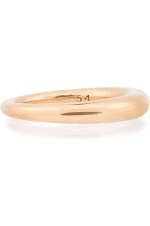 ALL BLUES Hungry Snake polished vermeil ring - Metallic
