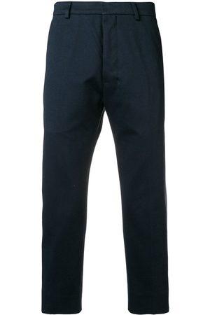 Ami Men Straight Leg Pants - Straight Fit Trousers