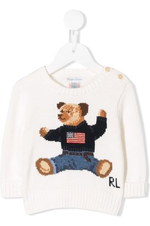 Ralph Lauren Hoodies - Bear embroidered jumper