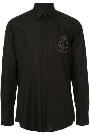 Dolce & Gabbana Logo heart patch shirt