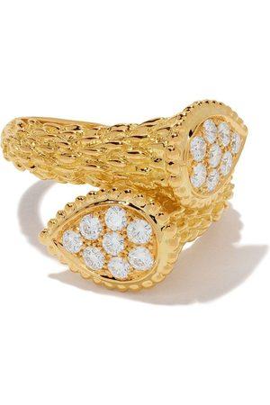 Boucheron Women Rings - 18kt yellow gold Diamond Serpent Bohème Toi et Moi motif S ring - YG