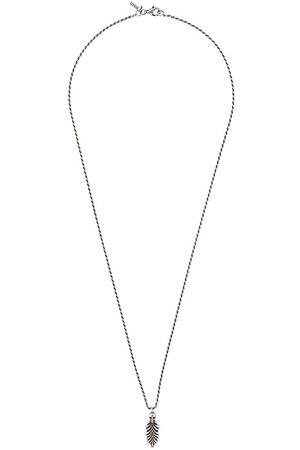 Emanuele Bicocchi Necklaces - Skull & Feather necklace