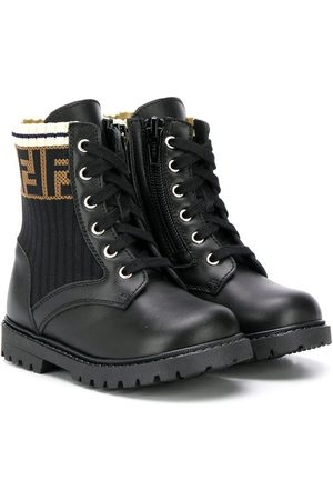 Fendi Boys Boots - FF cargo boots