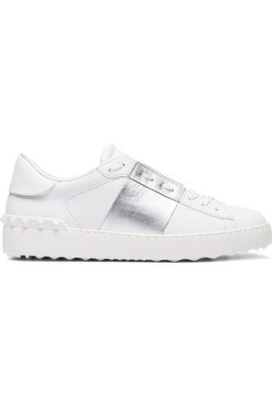 VALENTINO GARAVANI Open metallic sneakers
