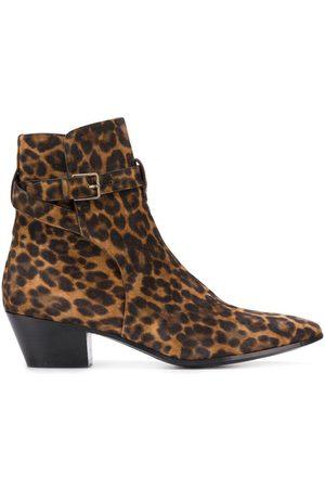 Saint Laurent Women Boots - West Jodhpur 45mm boots