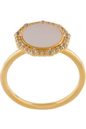 ASTLEY CLARKE Mother of Pearl Luna ring - Metallic