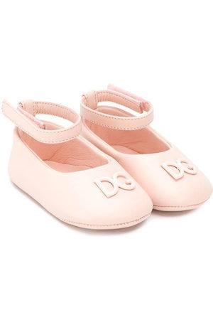 Dolce & Gabbana Ankle strap ballerina shoes - Neutrals