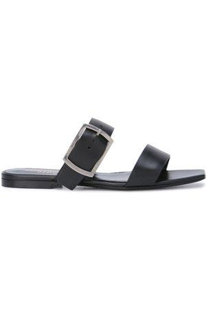 Saint Laurent Buckle flat sandals