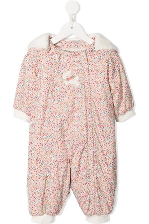 Familiar Floral pattern snowsuit