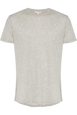 Orlebar Brown Short sleeved cotton t-shirt - Grey