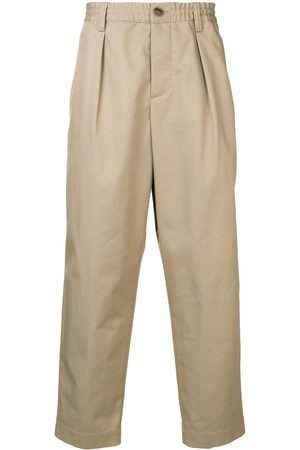 Marni Loose-fit trousers - Neutrals