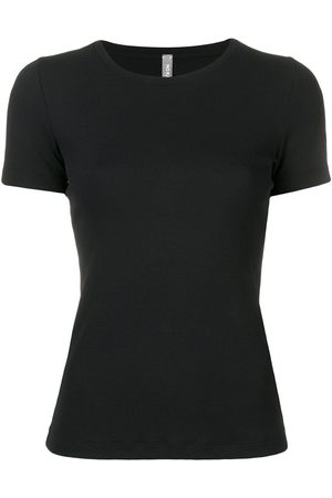 NO KA' OI Women T-shirts - Tape sleeve fitted T-shirt