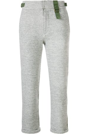 Mr & Mrs Italy Cropped jogging trousers - Grey