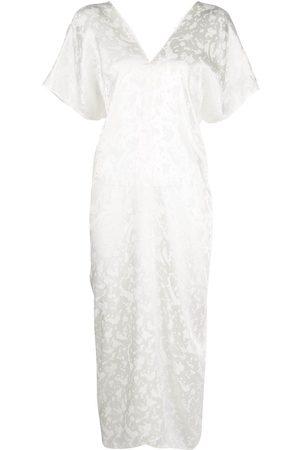 Voz Short-sleeve midi dress