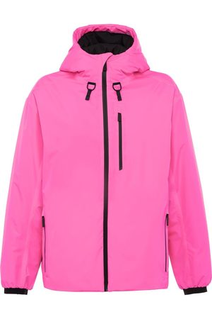Prada Women Jackets - Linea Rossa technical hooded jacket