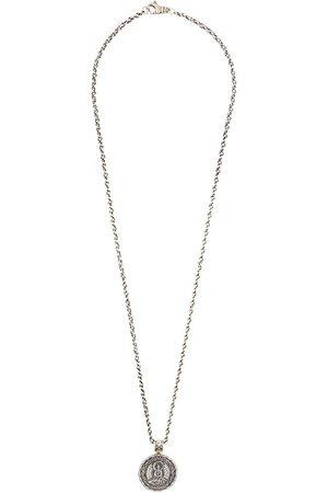 Nialaya Buddha amulet necklace - Grey