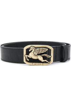 Etro Women Belts - Logo buckle belt