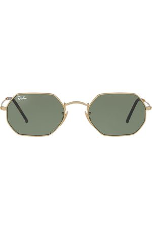 Ray-Ban Octagonal-frame sunglasses - Metallic