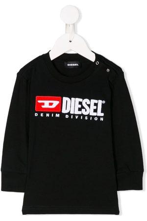 Diesel Crew neck logo sweatshirt