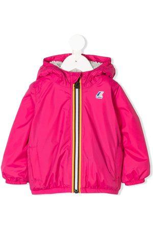 K-Way Rainwear - Logo hooded rain jacket