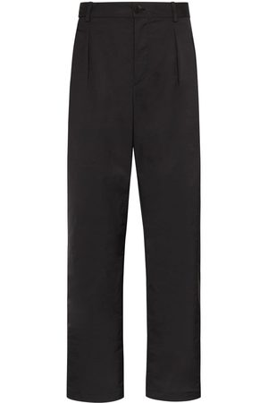 VALENTINO Pleated straight leg trousers