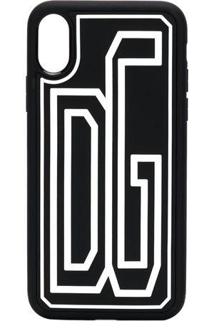 Dolce & Gabbana Men Phones Cases - IPhone X logo cover