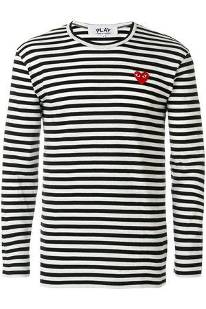 Comme des Garçons Men Long Sleeve - Striped long-sleeve T-shirt - Multicolour